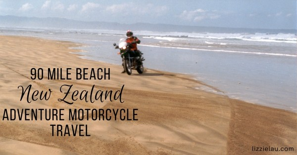 90 Mile Beach – New Zealand Adventure Motorcycle Travel