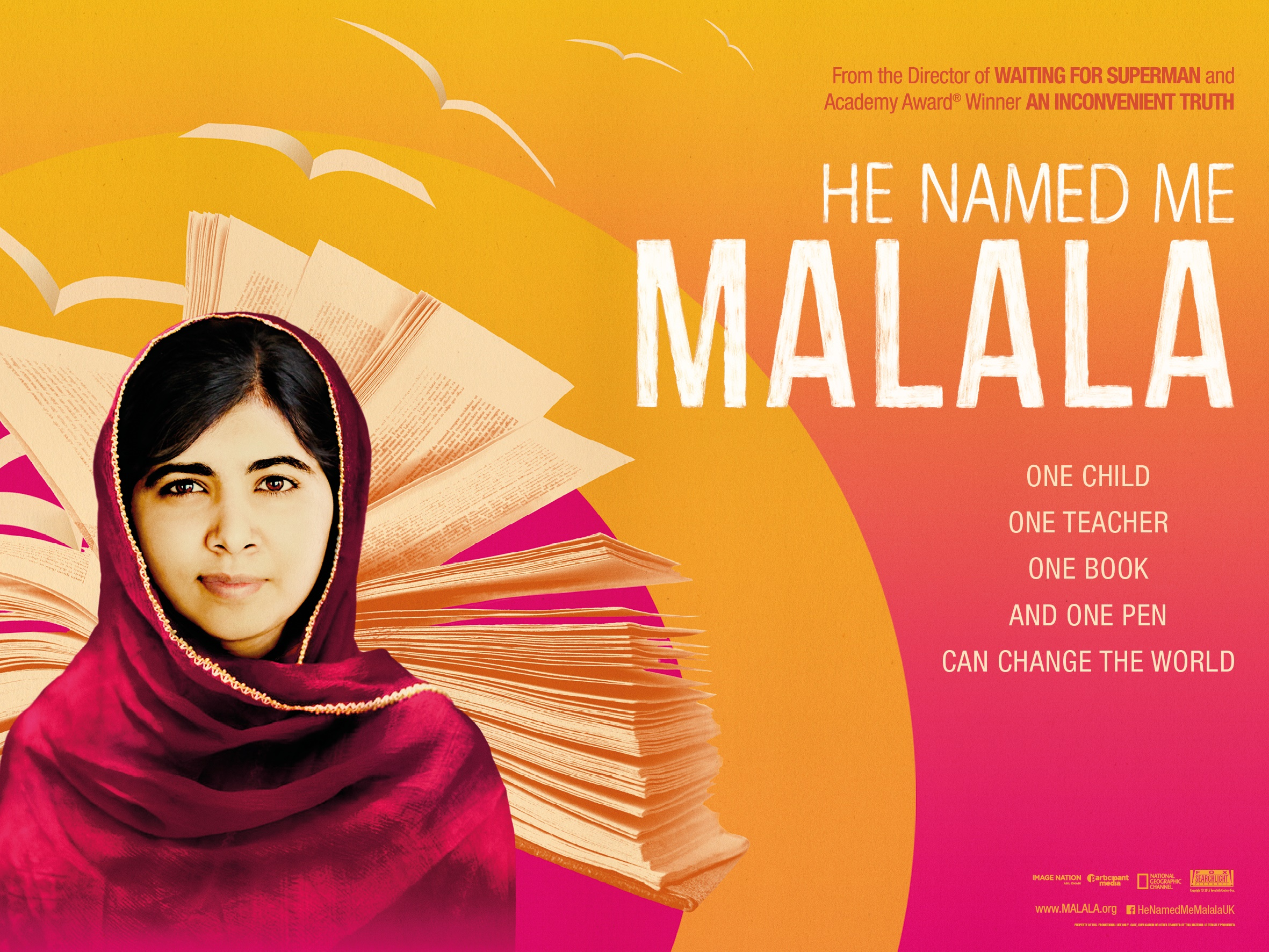 He Named Me Malala on Netflix