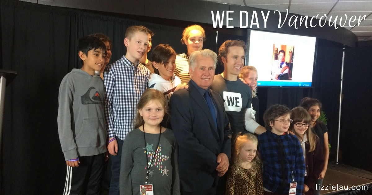 WE Day Vancouver Promotes Kindness and Making a Difference #ad