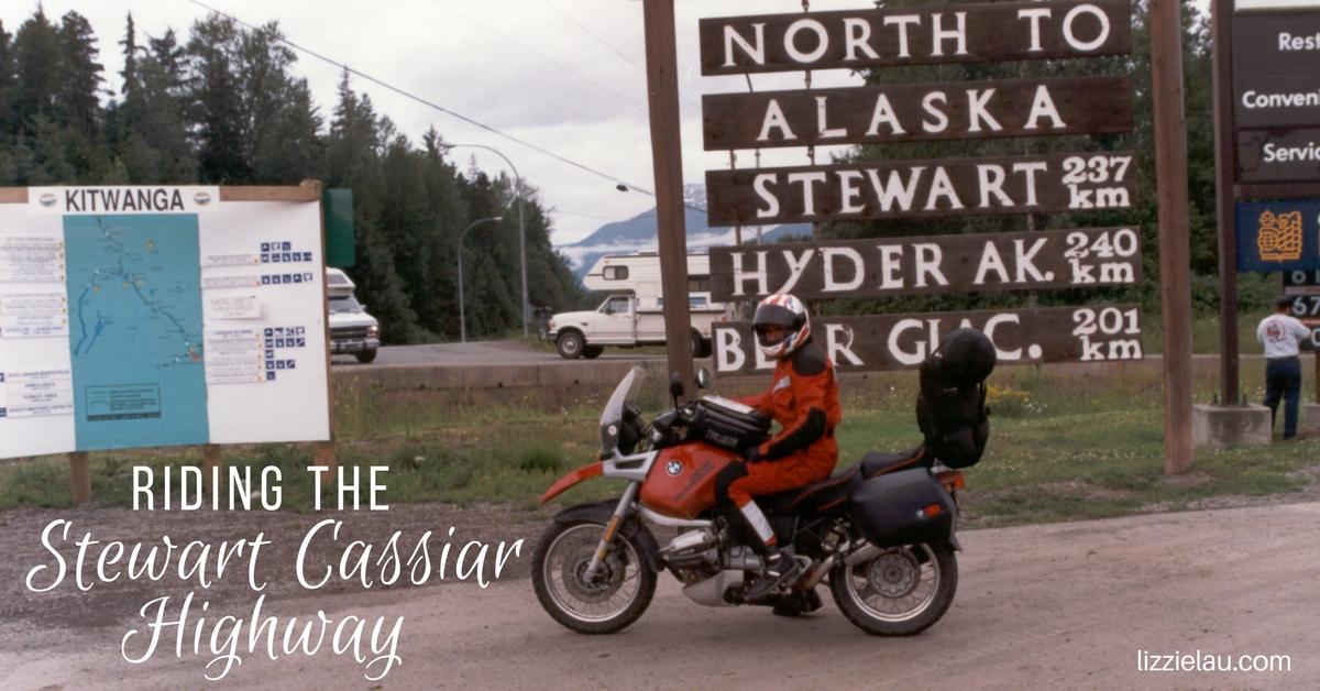 Riding the Stewart Cassiar Highway
