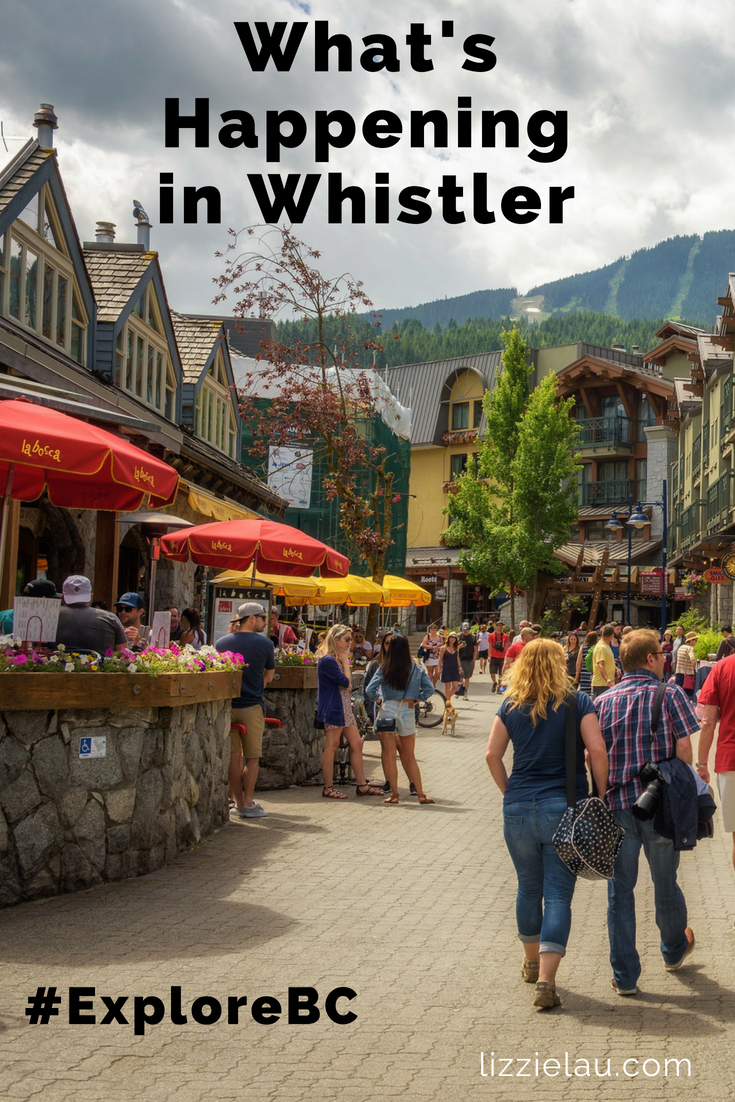 What's Happening in Whistler - a routinely updated list of local events. #ExploreBC #familytravel