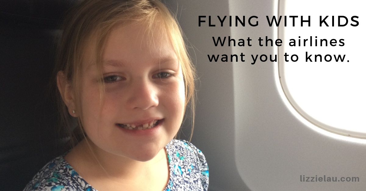 Flying With Kids #takeyourkidseverywhere