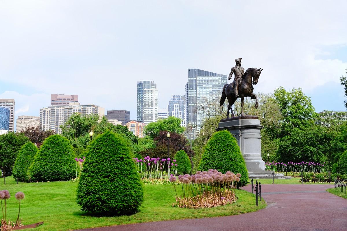 Boston Common - Boston with kids
