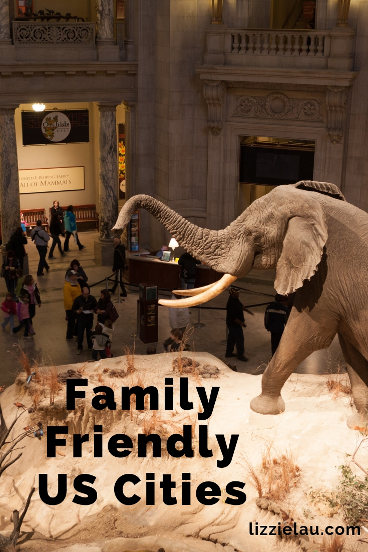 Family Friendly US Cities