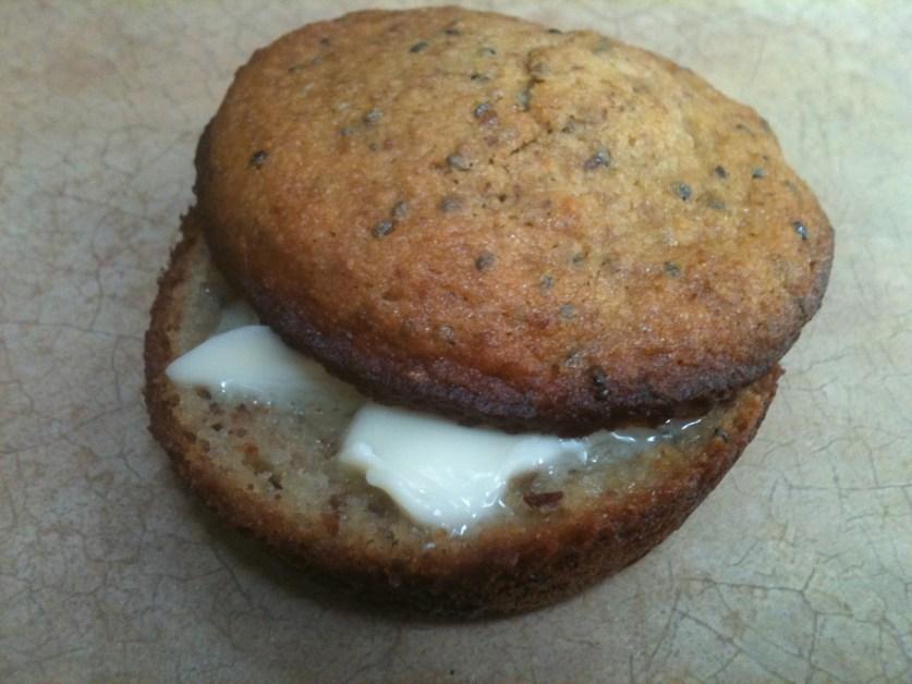 gluten free almond chia muffins