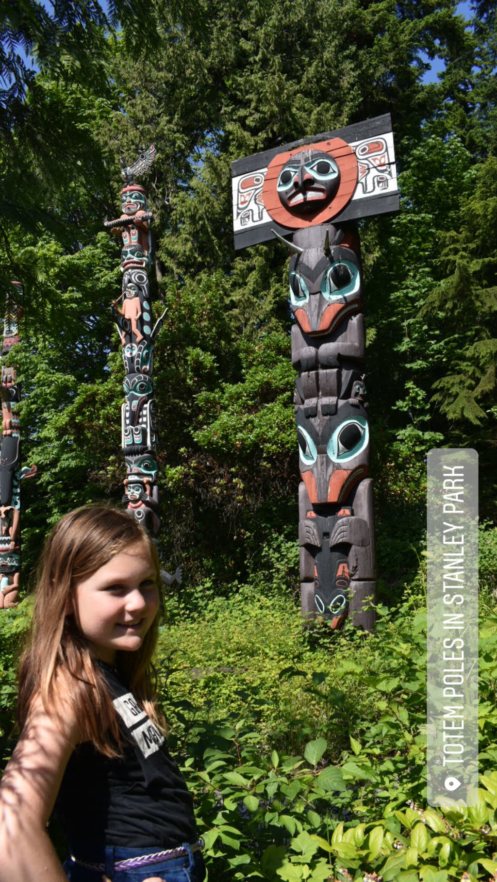 Experience Vancouver Stanley Park Totems