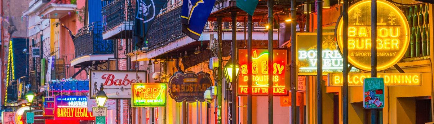 US Tourism Websites New Orleans