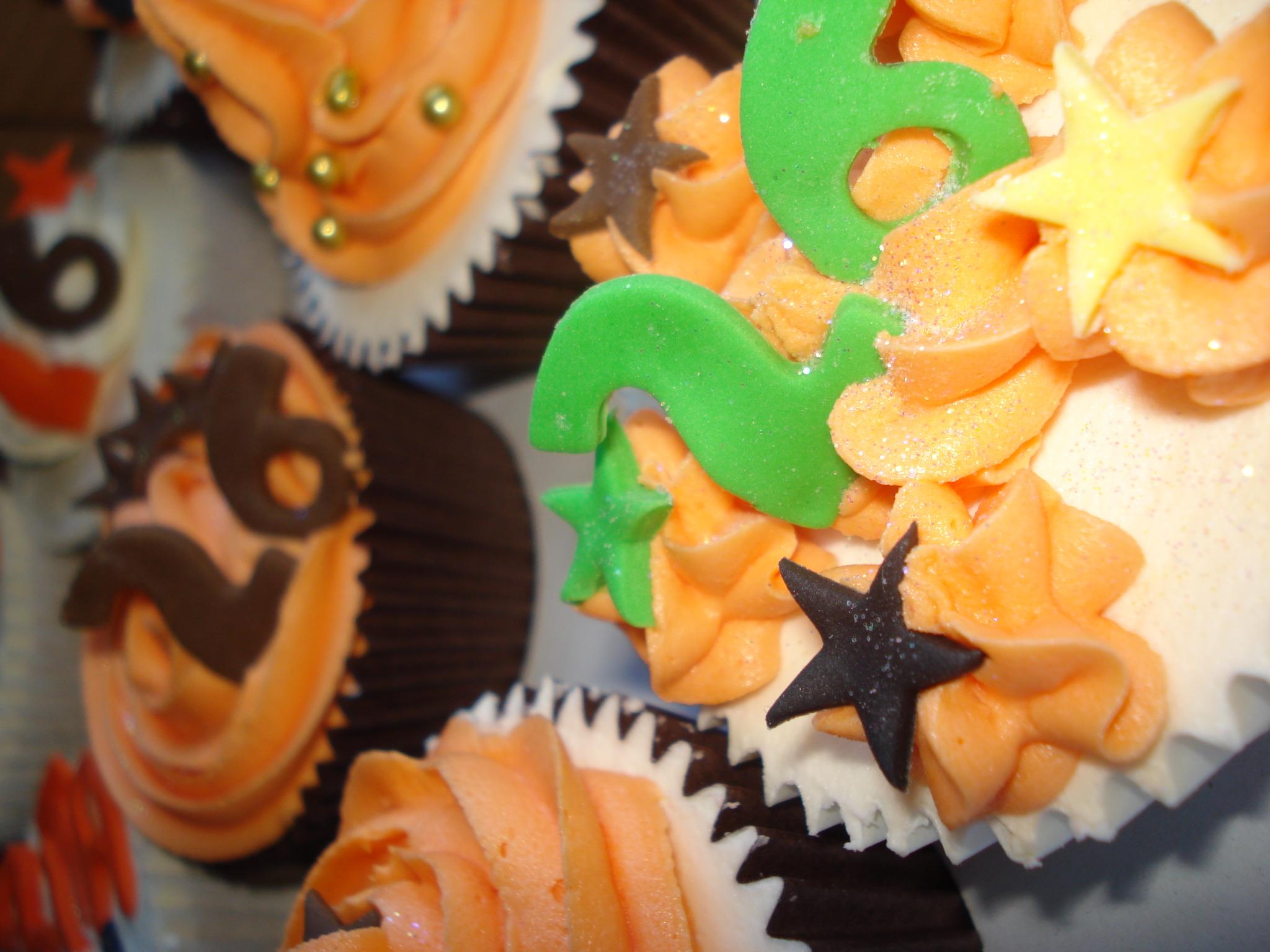 Wild thing birthday cupcakes