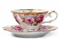 Vintage china tea set hire  CAKES BY LIZZIE, EDINBURGH