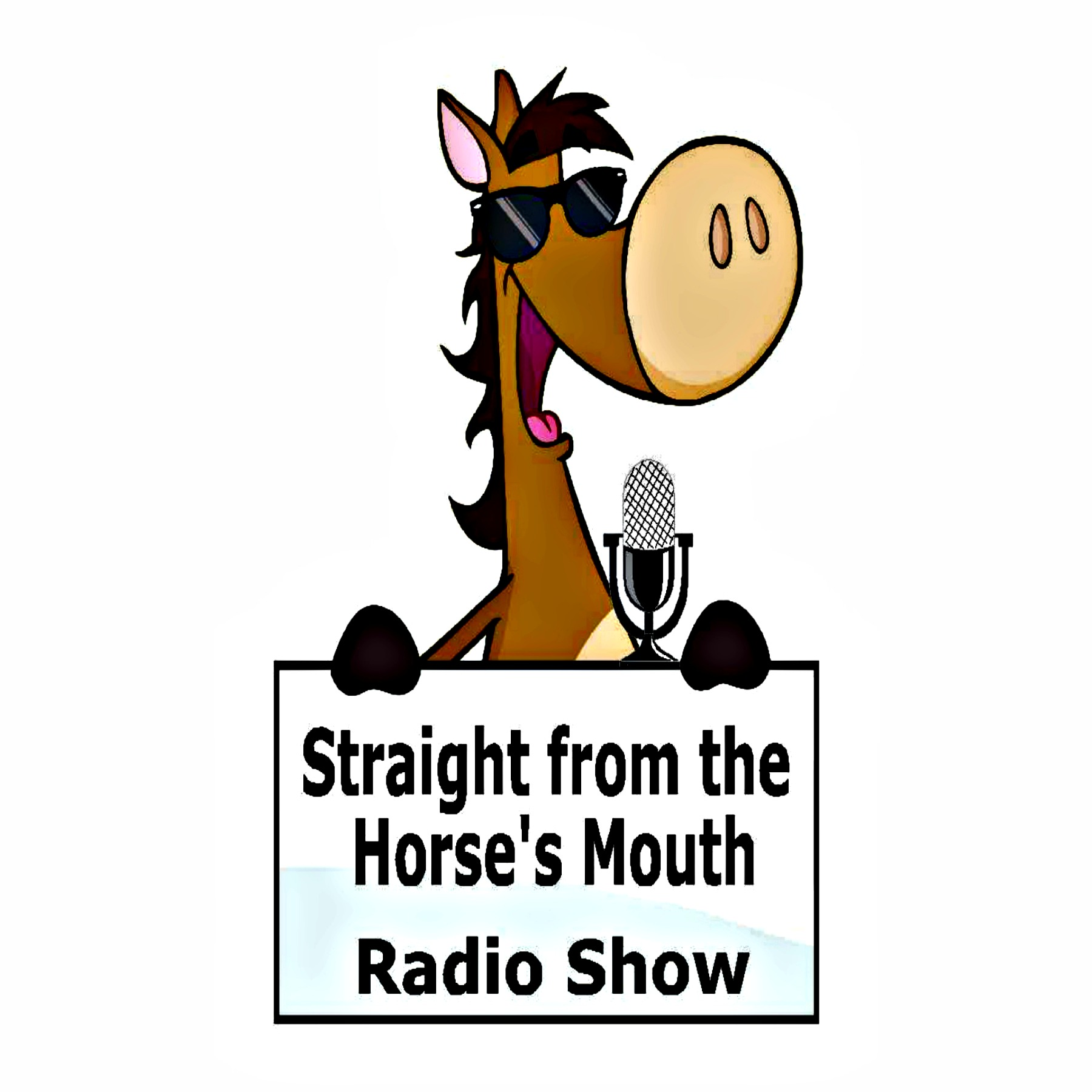 STRAIGHT FROM THE HORSE'S MOUTH RADIO SHOW LOGO