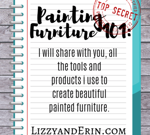 Painting Furniture 101:
