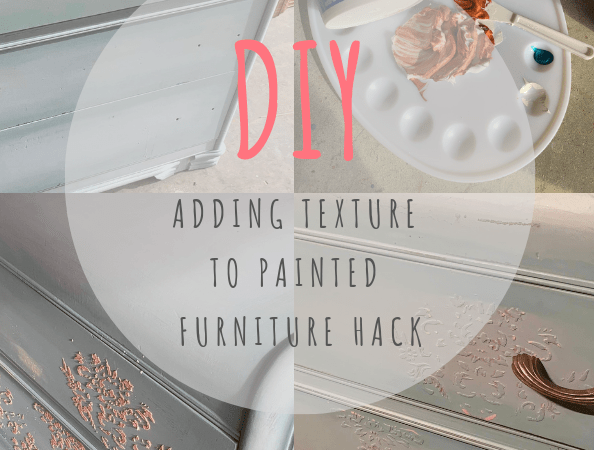 Fancy Up a Basic Dresser by Adding Texture