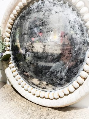 Turn a Dollar Tree Tray into a BEAUTIFUL Antique Mirror
