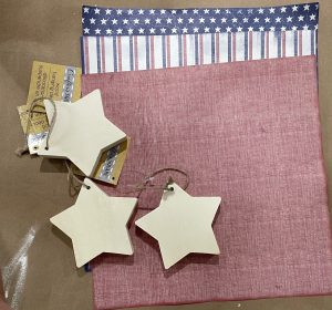 Dollar Tree Star Shelf Sitters