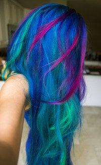 Rainbow Hair & Multi-Colored Hair | Manic Panic Dye Hard ...