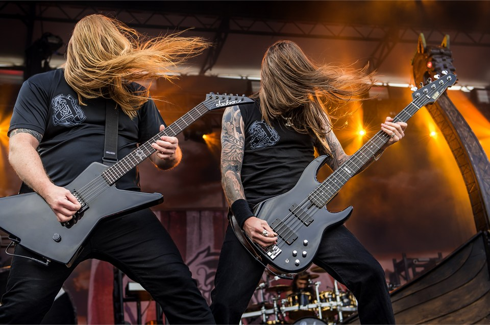 Amon Amarth Photos from Carolina Rebellion 2017