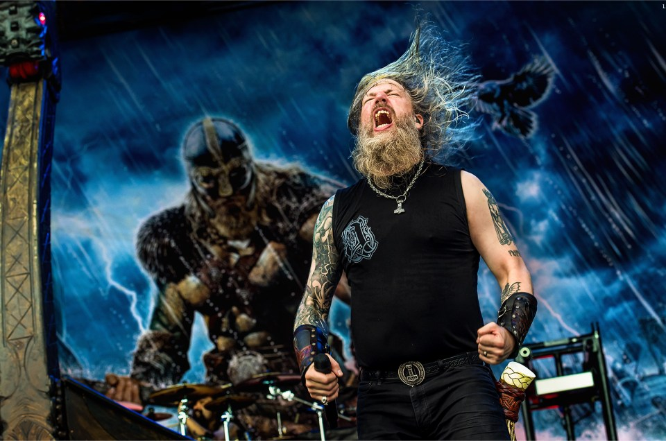 Amon Amarth at Rock on the Range 2017