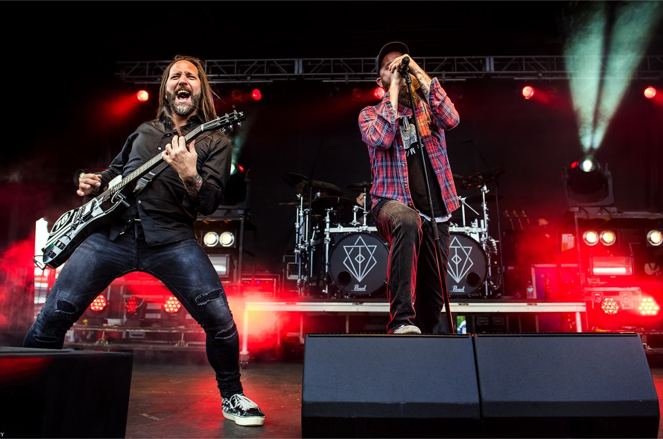 In Flames Live Pictures from Carolina Rebellion