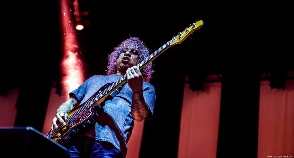 Deftones bassist Sergio Vega live in Tampa. ©Lizzy Davis Photography