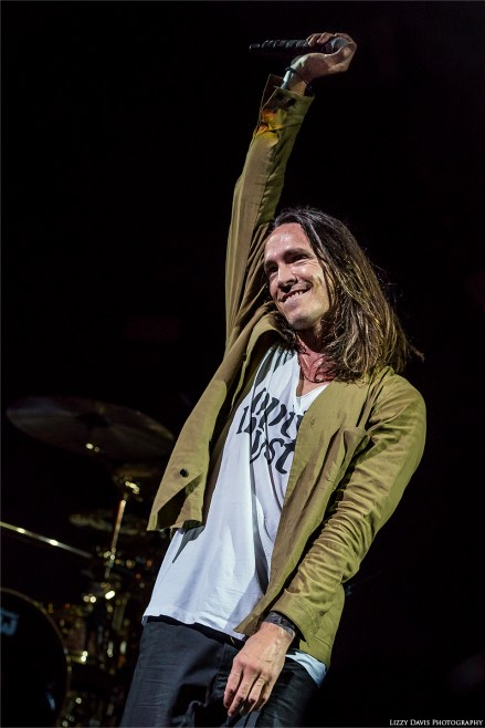 Incubus vocalist Brandon Boyd greets fans in Tampa. Live music photos by ©Lizzy Davis Photography.