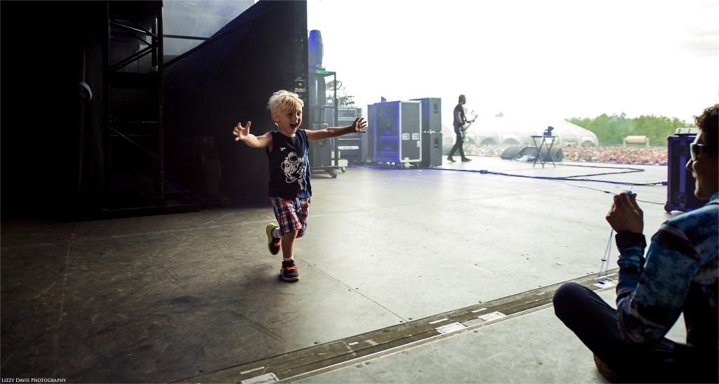 Alter Bridge bassist Brian Marshall's son. ©Lizzy Davis Photography