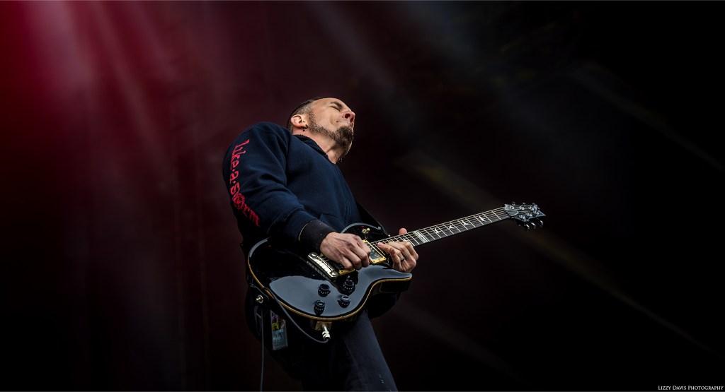 Guitarist Mark Tremonti at Carolina Rebellion 2017. Alter Bridge photos by ©Lizzy Davis Photography.