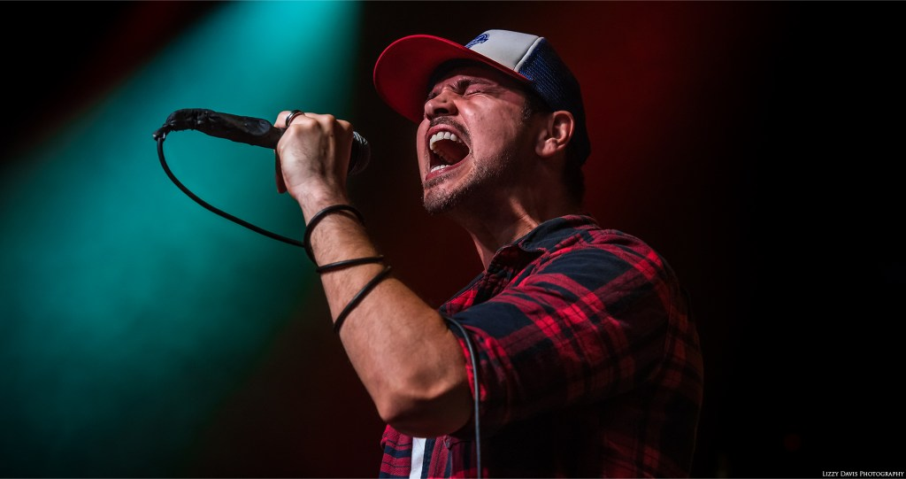Rick DeJesus of Adelitas Way - live show at The Fillmore in Charlotte, NC.