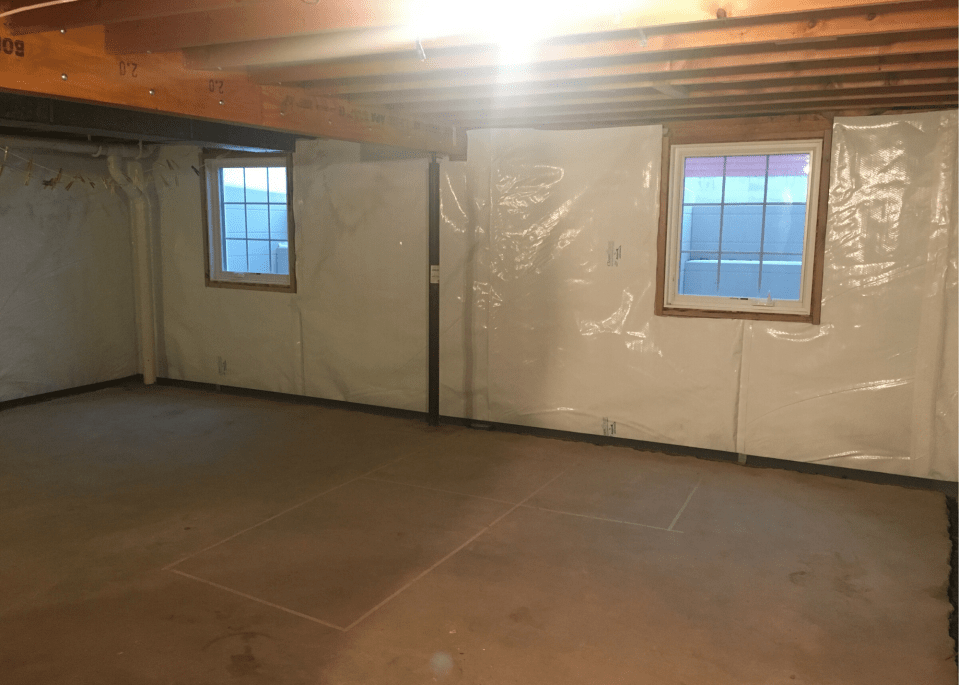 waterproofing, you won't regret doing it when finishing a basement.