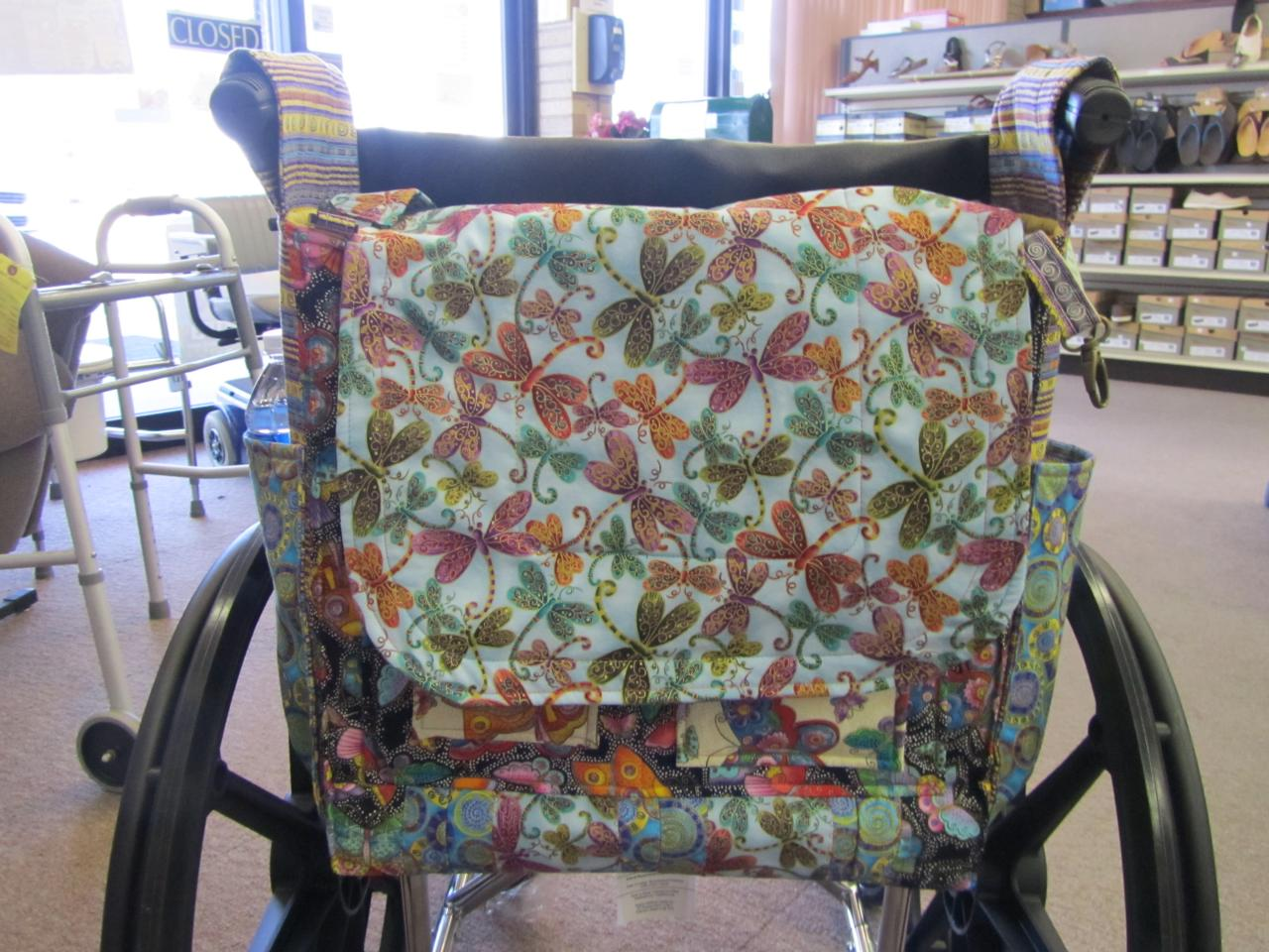 tank chair wheelchair hanging images lizzy gail bags oxygen coverwheelchair bag