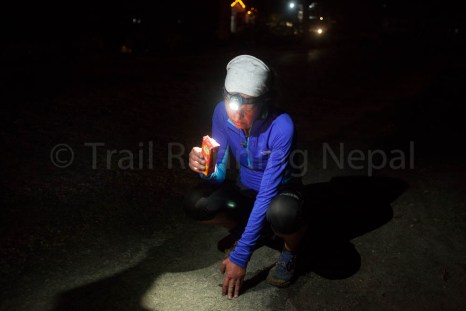over 60 hours of running - hard times in the last kilometres