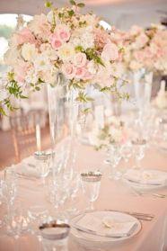 Rose Quartz Tablescape