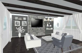 """Allis"" eDesign Living Room"