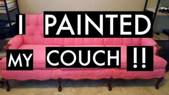 DIY: I Painted My Couch