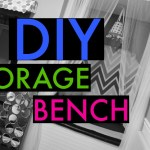 DIY Storage Bench/Reading Nook