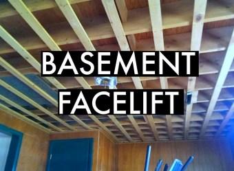 Basement Facelift