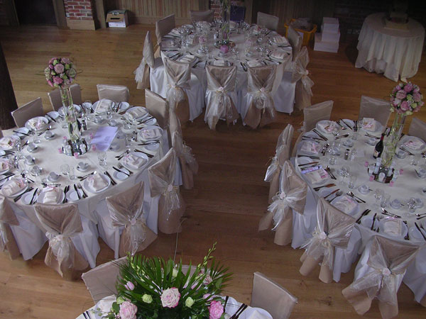 Chair Covers for Weddings in Essex  LJ Events
