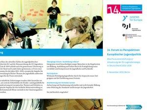 Abschlussveranstaltung EU-Jugendstrategie