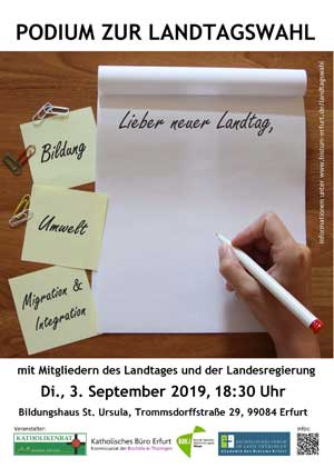 Gesprächsforum Landtagswahl