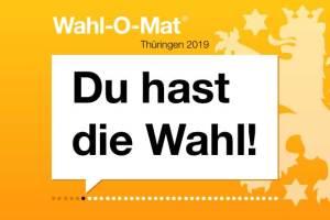 Wahl-O-Mat Landtagswahl Thüringen 2019