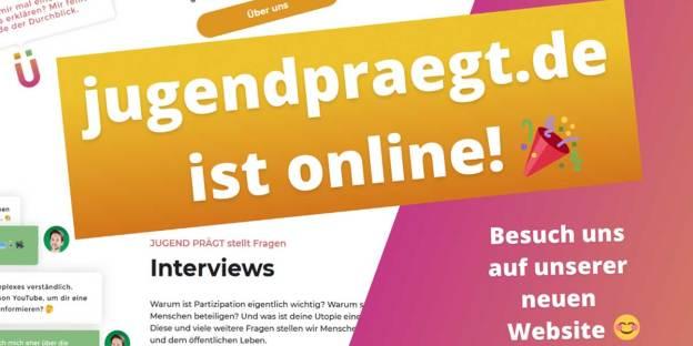 jugendpraegt.de politische bildungsarbeit Thüringen