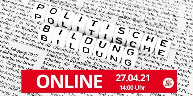 Politische Bildung Onlineveranstaltung