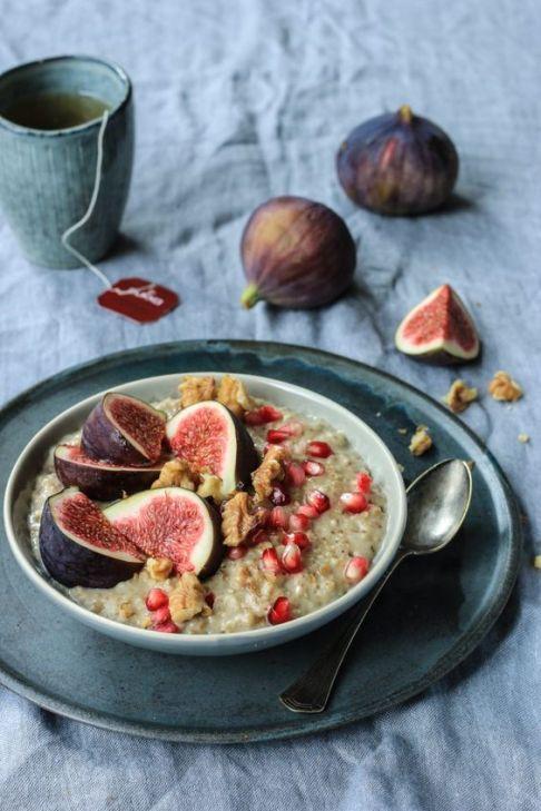 Chai Feigen Porridge: Haferbrei mit wärmenden Gewürzen