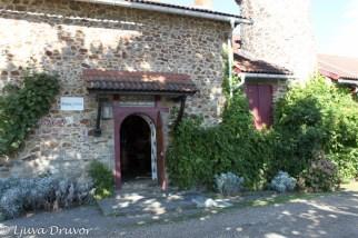 Vineriet på Château de Briacé