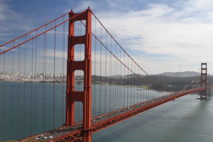 Golden Gate Bridge - San Francisco Bay
