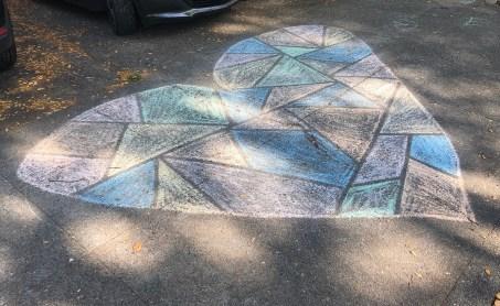 sidewalk heart web