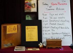01 Guru Purnima Schedule