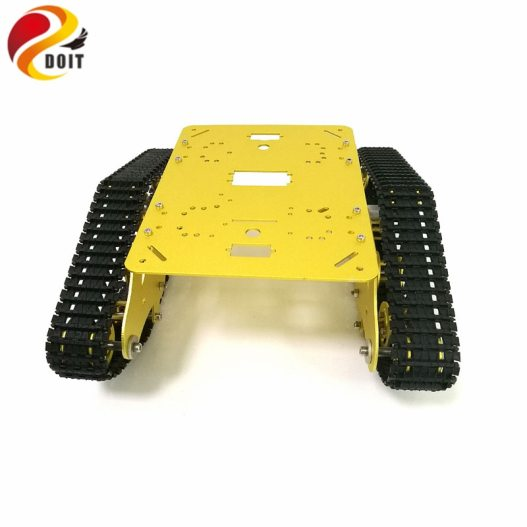 DOIT TS300 Tracked Robot Smart Car Platform with Damping Effect System for Arduino Raspberry Pi DIY 1