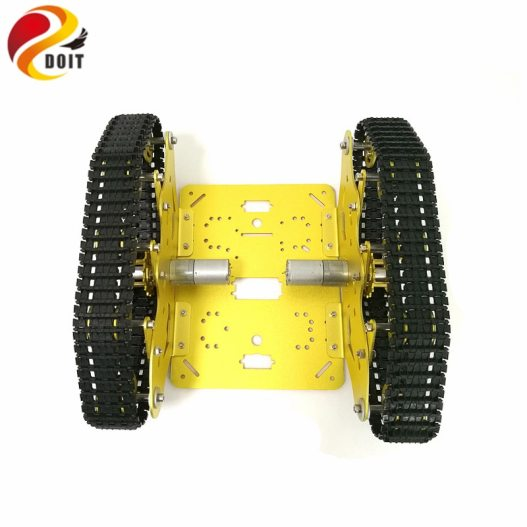 DOIT TS300 Tracked Robot Smart Car Platform with Damping Effect System for Arduino Raspberry Pi DIY 2