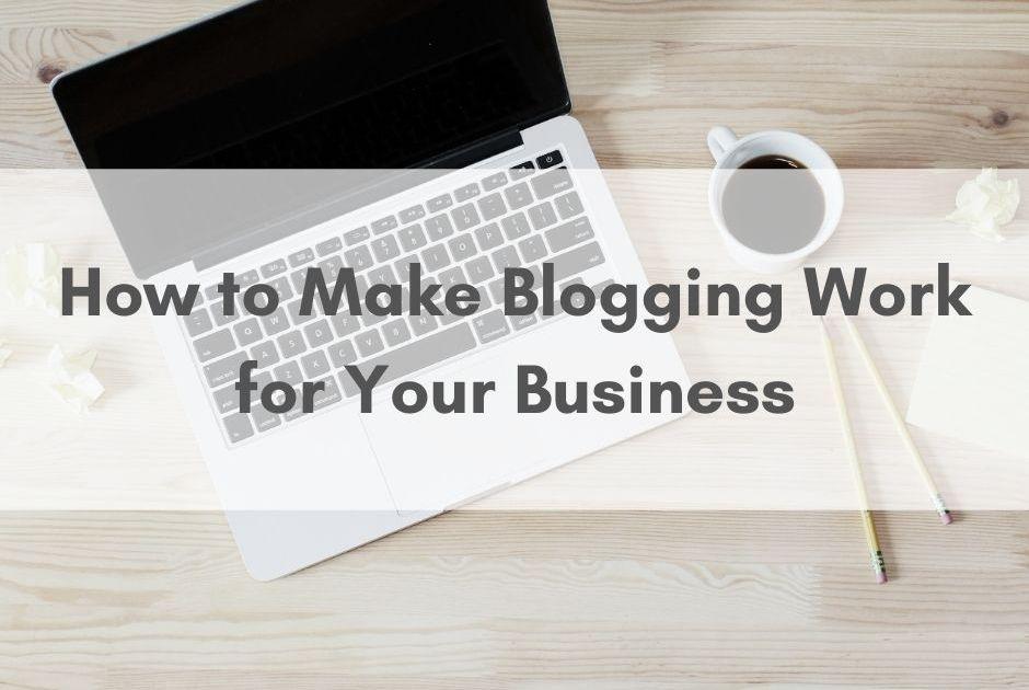 blogging for business nottingham copywriter