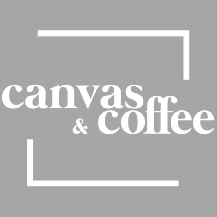 image of canvas and coffee logo white lettering surrounded by square press-release-nottingham-copywriter